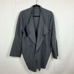 Oska wool wrap sweater cardigan